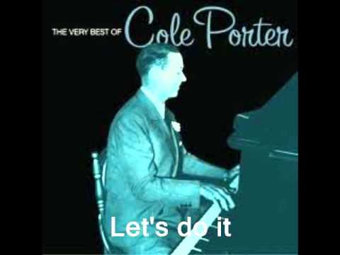 Let's do it :  Cole Porter.( Midnight in Paris )