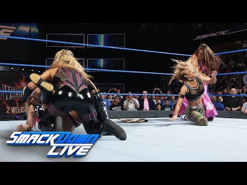 Becky Lynch vs. Carmella: SmackDown LIVE, March 21, 2017