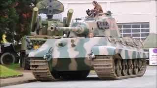 Tigre II Musée des Blindés Saumur