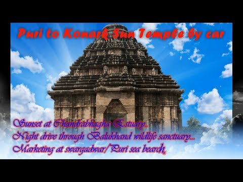 "Puri to ""Konark Temple"" 