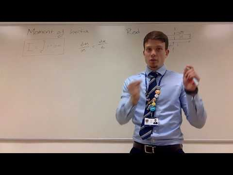 Moment of Inertia Derivation (Ring, Rod, Disk, and Cylinder)