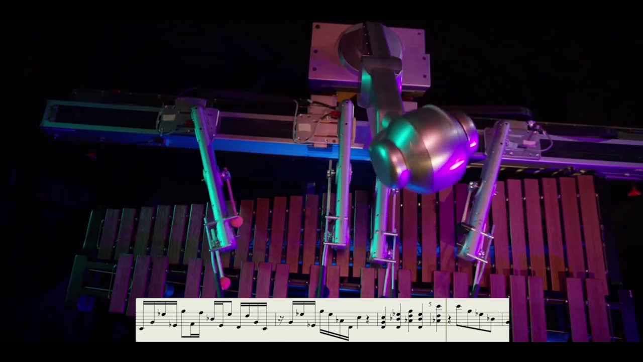 Robot Composes, Plays Own Music Using Deep Learning (with notes)