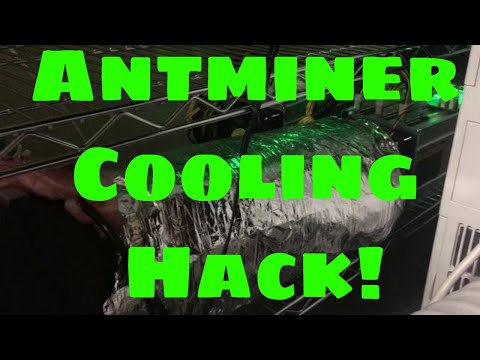 antminer s9 cooling hack-Antminer cooler?This is my Antminer cooling setup