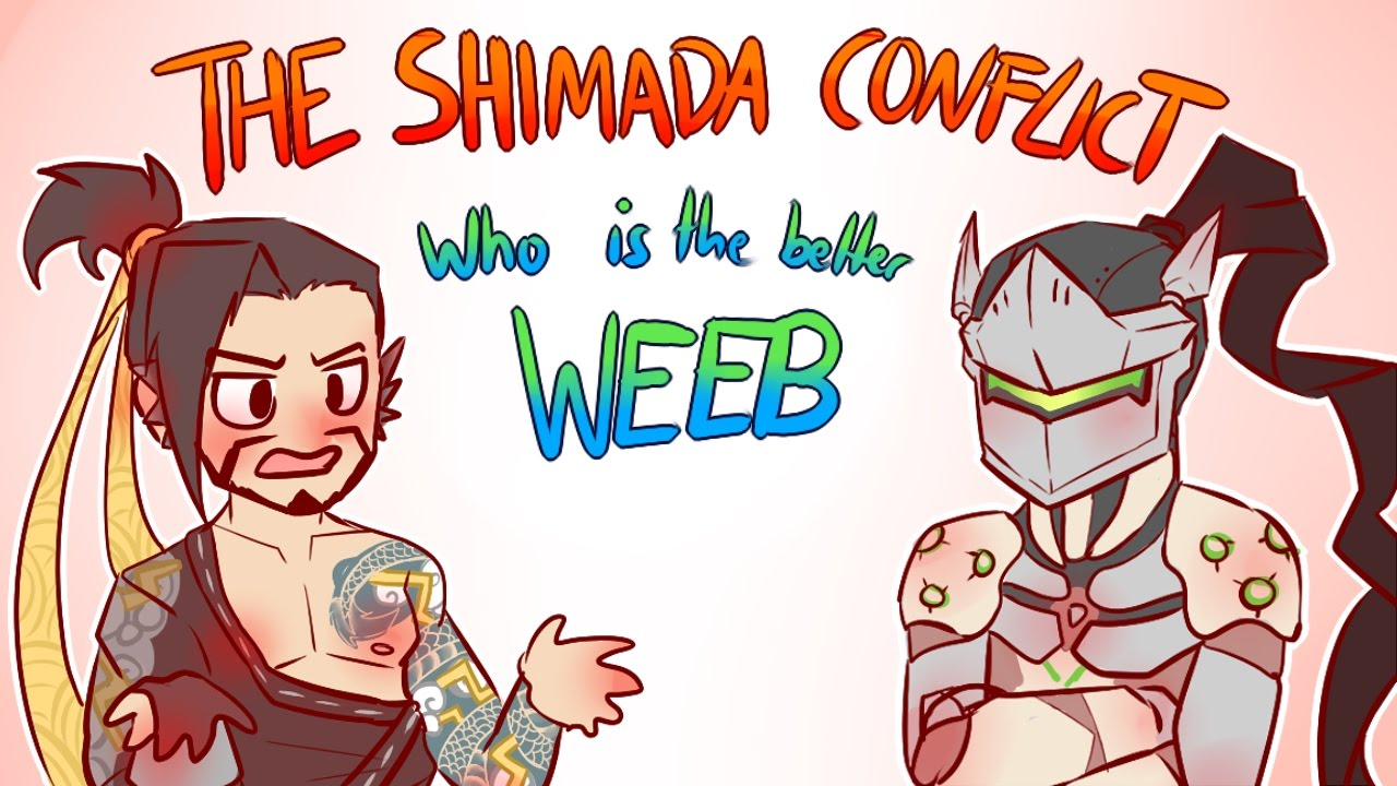 THE SHIMADA CONFLICT Who Is The Better Weeb OVERWATCH