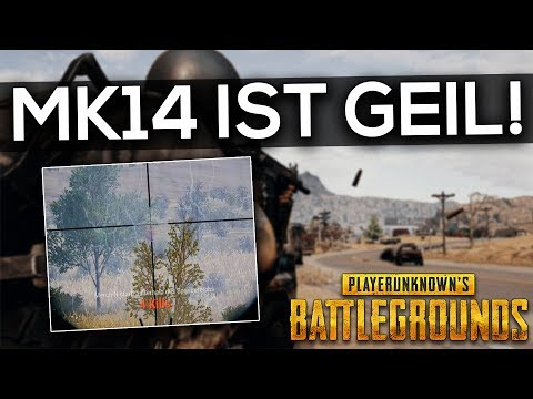 PUBG - MK14 SNIPER RAMBO ! - DUO Twitch Stream Highlight Gameplay Deutsch German