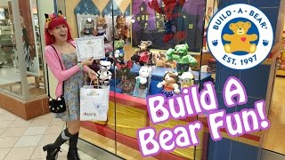 Halloween Build A Bear - Let's Build A Bat With Friends