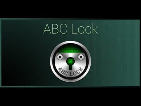 Обзор программы ABC Lock для Android