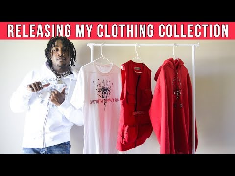 RELEASING MY CLOTHING COLLECTION | Men's Clothing Haul Streetwear & Fashion 2019
