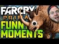 FAR CRY PRIMAL! - CRAZY EAR LADY! #1 - Funny Moments!