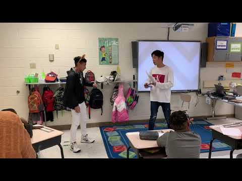 IRHS Public Speaking Class: Storytelling at Georgetown Primary
