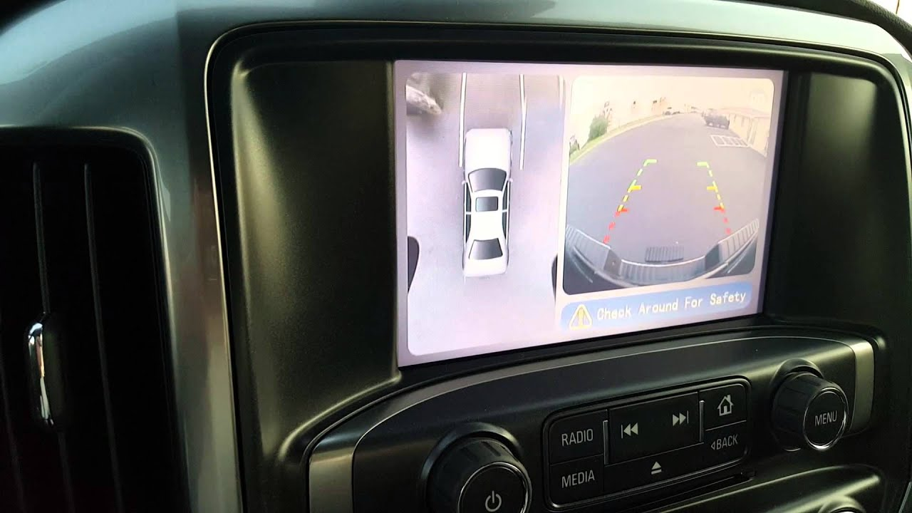 2015 Chevrolet Silverado Blind Spot And 360 Degree Camera