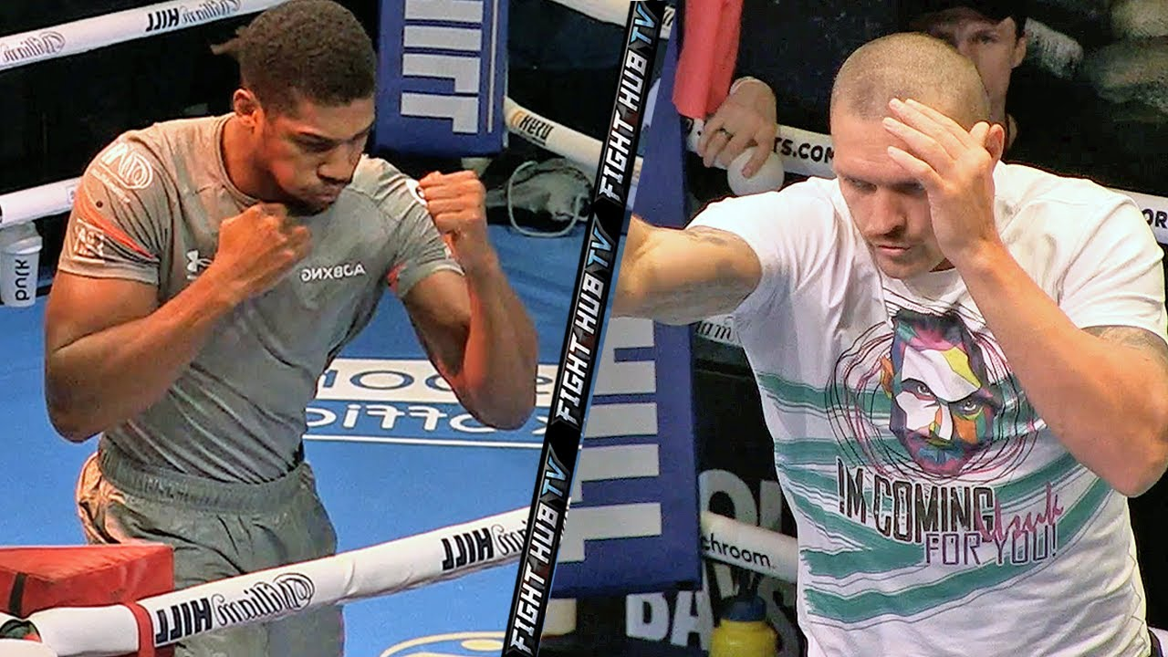 Anthony Joshua exercises right to rematch with Oleksandr Usyk for ...