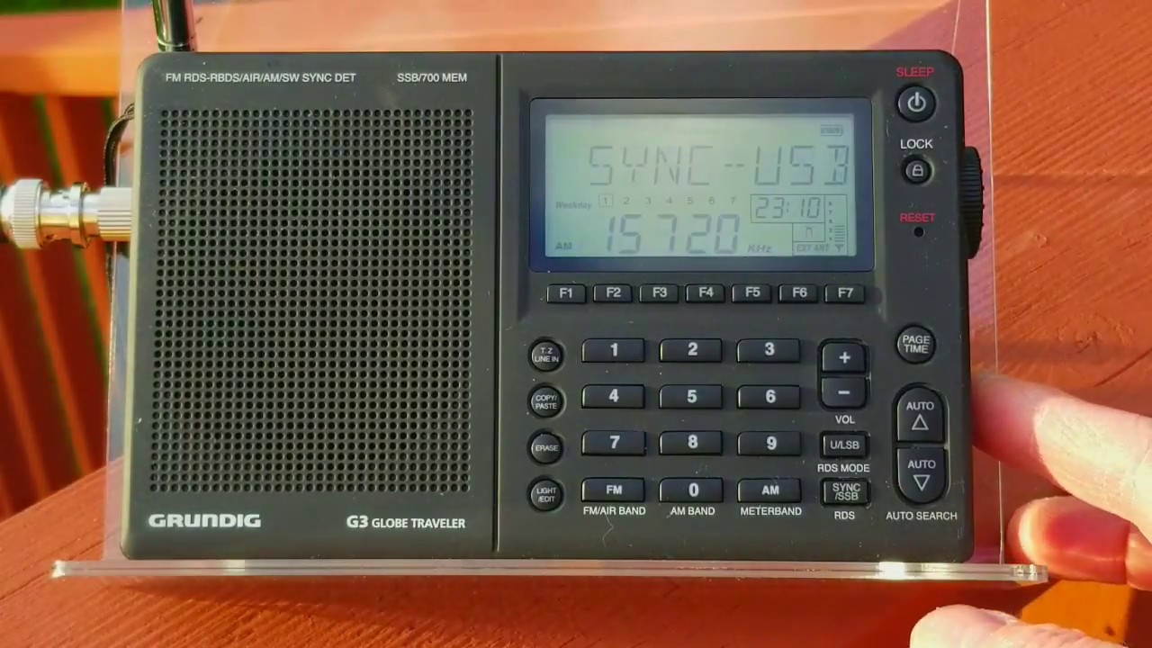 XHDATA D-808 Compared on Shortwave Versus Four Other Portable Radios ...