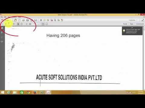 How To Convert TIFF Format To PDF In Windows 7 /8.1/10