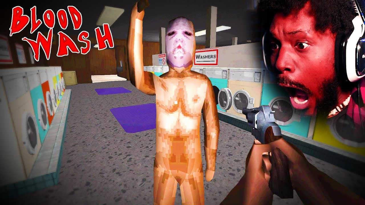 Download a KILLER is on the LOOSE at THE LAUNDROMAT [Bloodwash - Full Game]