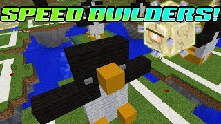MINECRAFT MONDAY EP130 | SPEED BUILDERS | GAMER CHAD & RADIOJH GAMES