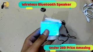 Mini Wireless Bluetooth Speaker Unboxing & Review Under 250 cheap Price