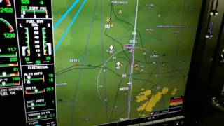 PIPER PA46 MIRAGE Night RNAV approach EPLL