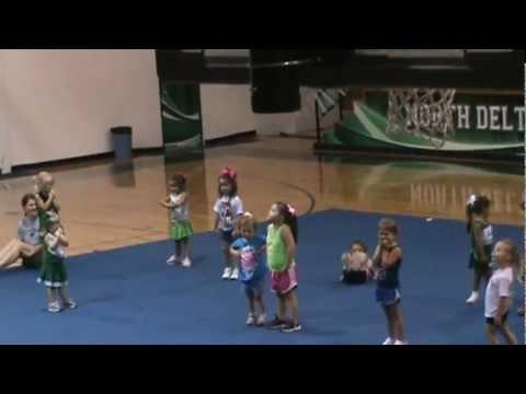 North Delta School Cheer Camp