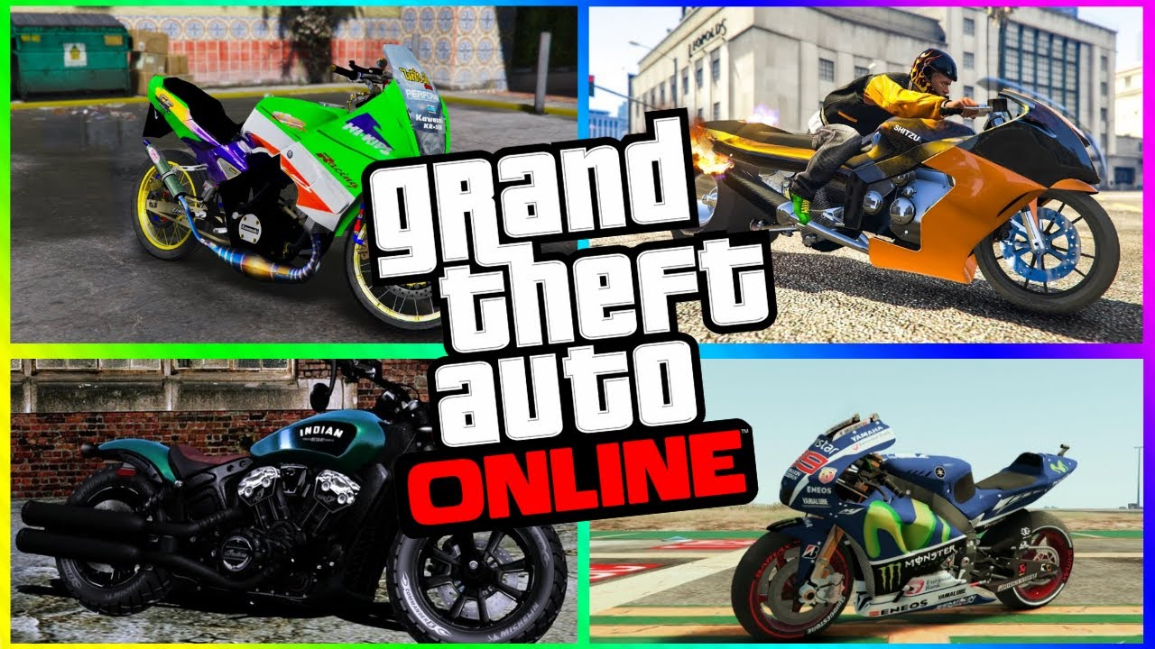 5 Fastest Motorcycles In Gta 5 Online Updated 2020 Youtube