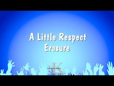A Little Respect - Erasure (Karaoke Version)