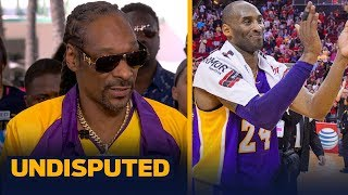 Snoop Dogg on Kobe: 'That man meant a lot to us' | UNDISPUTED | LIVE FROM MIAMI