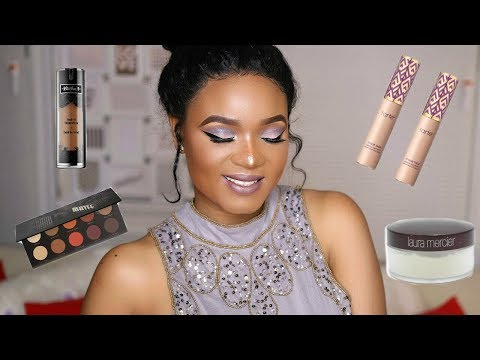 SOFT COOL TONE MAKEUP TUTORIAL WITH A TOUCH OF BLUE  OMABELLETV