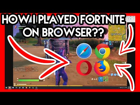 HOW I PLAYED FORTNITE ON BROWSER?? (no Clickbait)