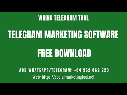 Telegram marketing software free download | Telegram