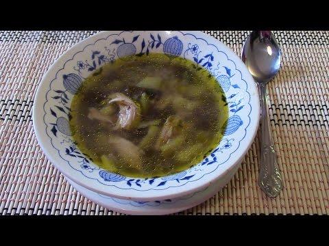суп с фрикадельками, рецепт приготовления
