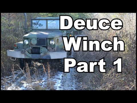 Deuce Winch basic operation and info  - YouTube
