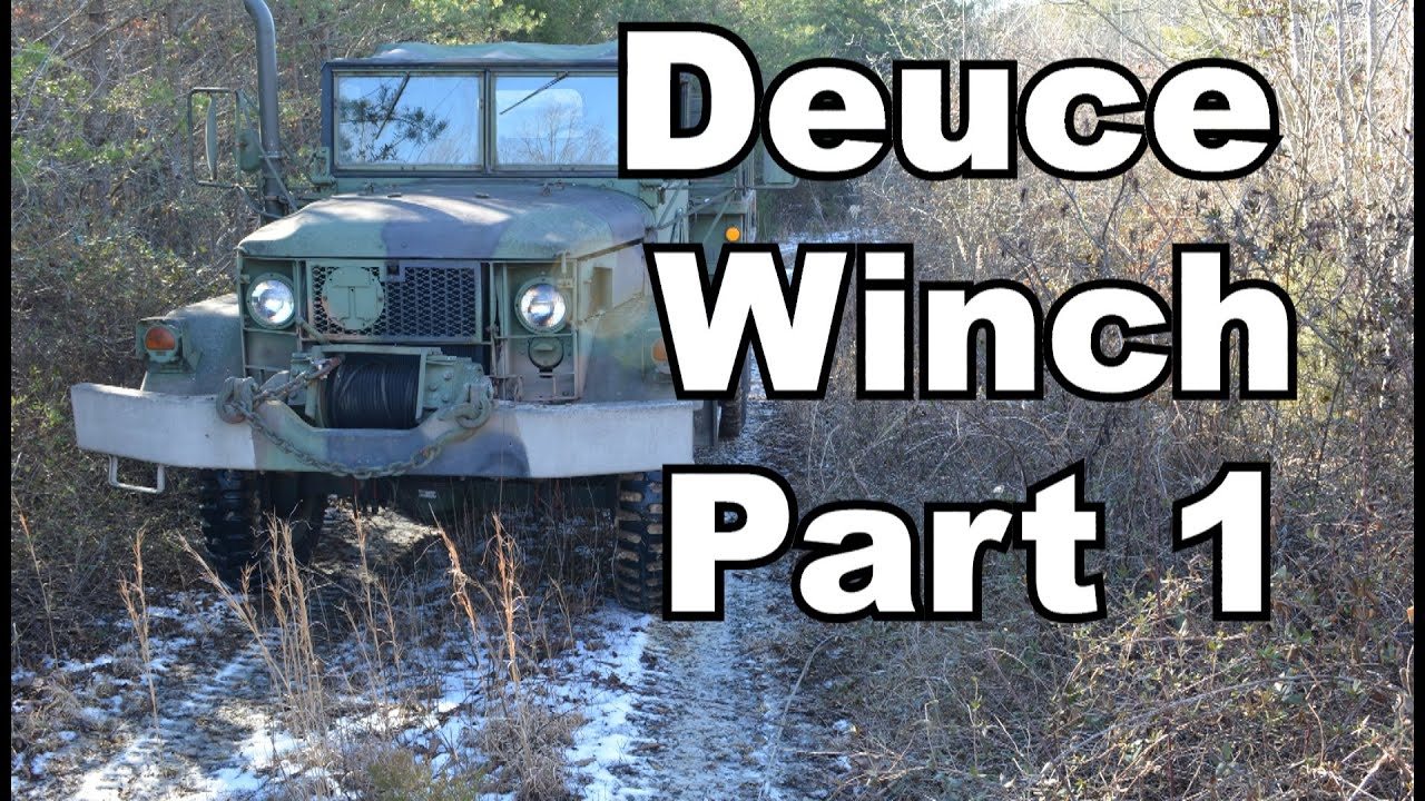 Deuce Winch basic operation and info
