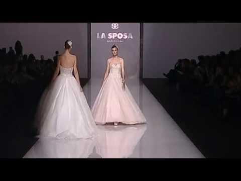 2382d51791b3 La Sposa 2015 Fashion Show - YouTube