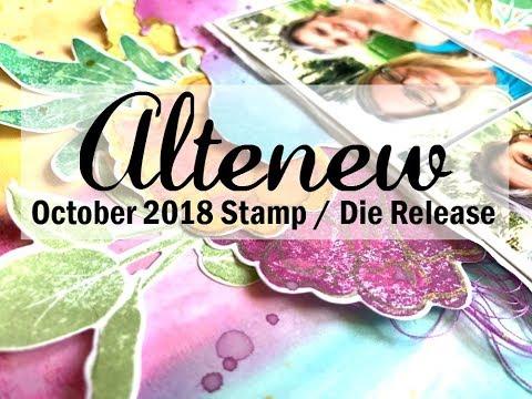 Scrapbooking Process #457 Altenew Stamp/Die Release Blog Hop / Together