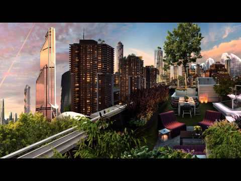 Ambient Sounds: [37min] 'Rooftop Garden '