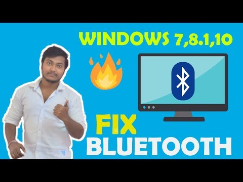 How To Fix Bluetooth Problem In Windows 7,8,8.1,10