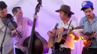 Old Crow Medicine Show - Wagon Wheel - Backstage at Hangout Music Fest 2011