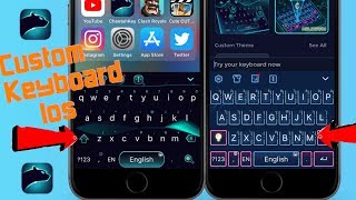 How To Get A Custom Keyboard on iOS 9 & Up!