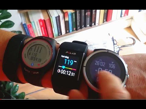 Polar M600 Accuracy Heart Rate Vs Suunto Spartan Youtube