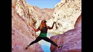 Fun Hike to Colorado river Arizona side Горный к реке Колорадо