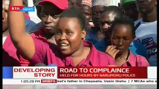 Road to compliance: PSVs impounded for non compliance,commuters  Held for hours by narumoru police