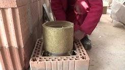 Kamtec Schornsteinlösungen - Aufbau & Montage eines Luft-Abgas-Schornsteins LASW