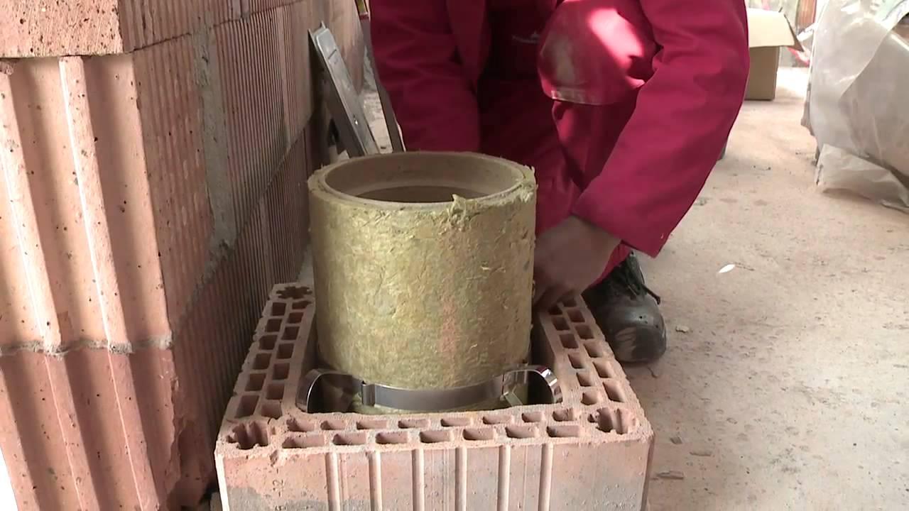 kamtec schornsteinlösungen - aufbau & montage eines luft-abgas