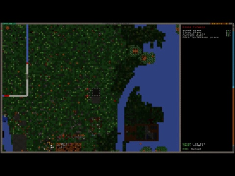 New 0.44.01 Dwarf Fortress Madness! Part 1