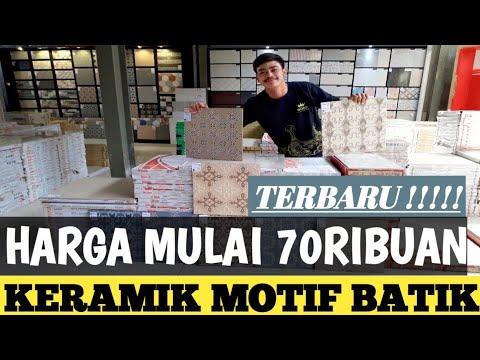 Keramik Lantai Motif Batik Terbaru Ukuran 40 40 Rojohousesolution Agung Anjar Youtube