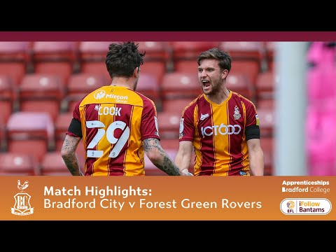Bradford Forest Green Goals And Highlights