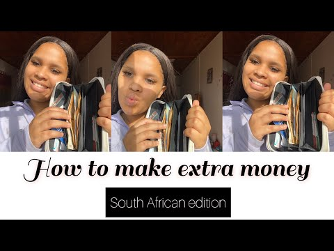 HOW TO MAKE EXTRA MONEY ONLINE IN SOUTH AFRICA ( PART 1 )