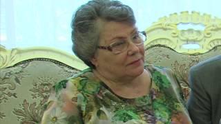 7 мая в Краснознаменском отделе ЗАГС семья Опариных отметили  юбилей «Золотой свадьбы»
