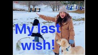 Filipina's Last Wish at Winter Last Minute
