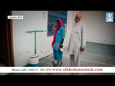 150417 Epi 1 SikhChannelAid Water Treatment Plant Jhangola, Delhi